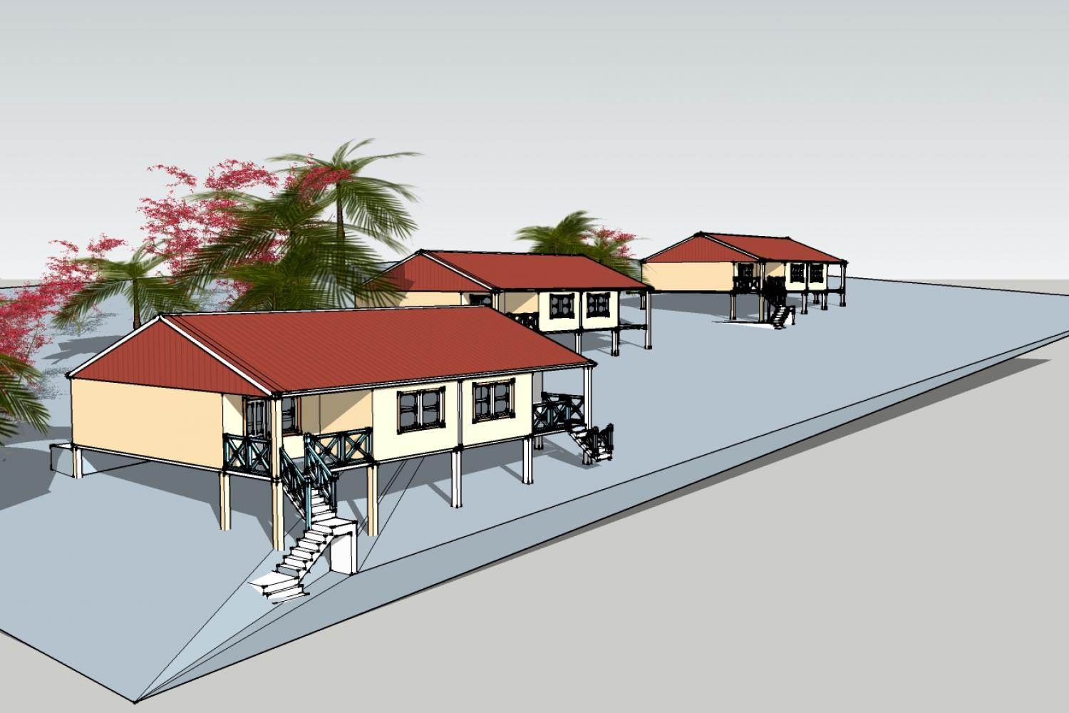 St Lucia Government Housing