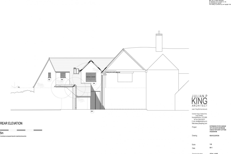 Haddenham Cottage listed building conversion
