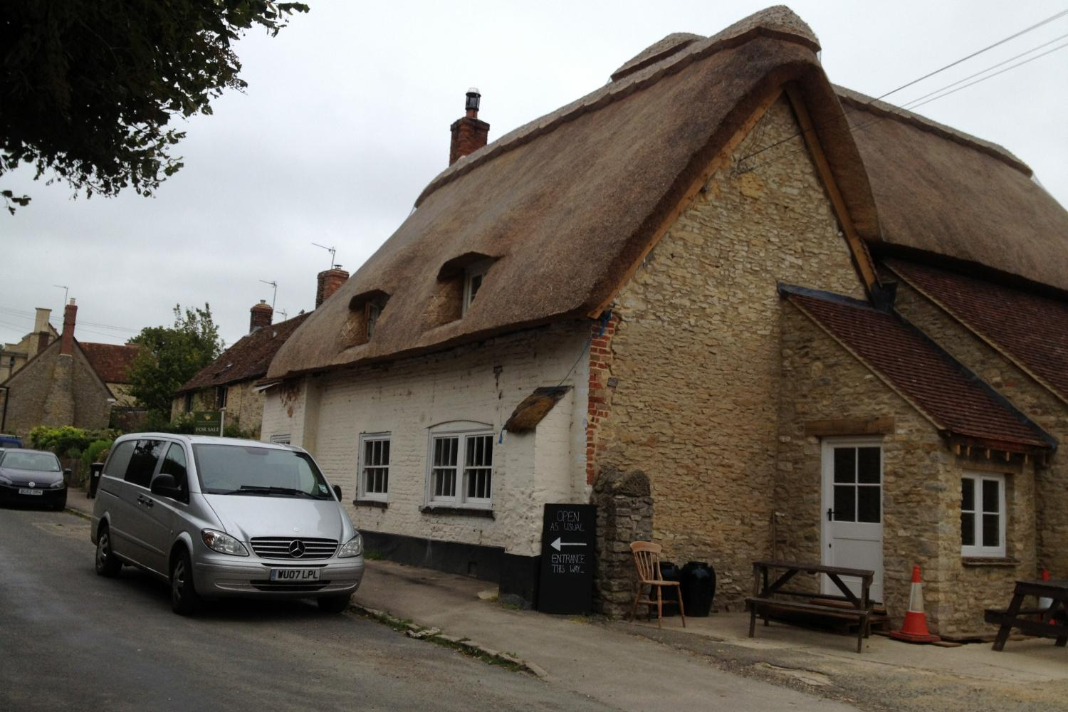 The Plough at Great Haseley