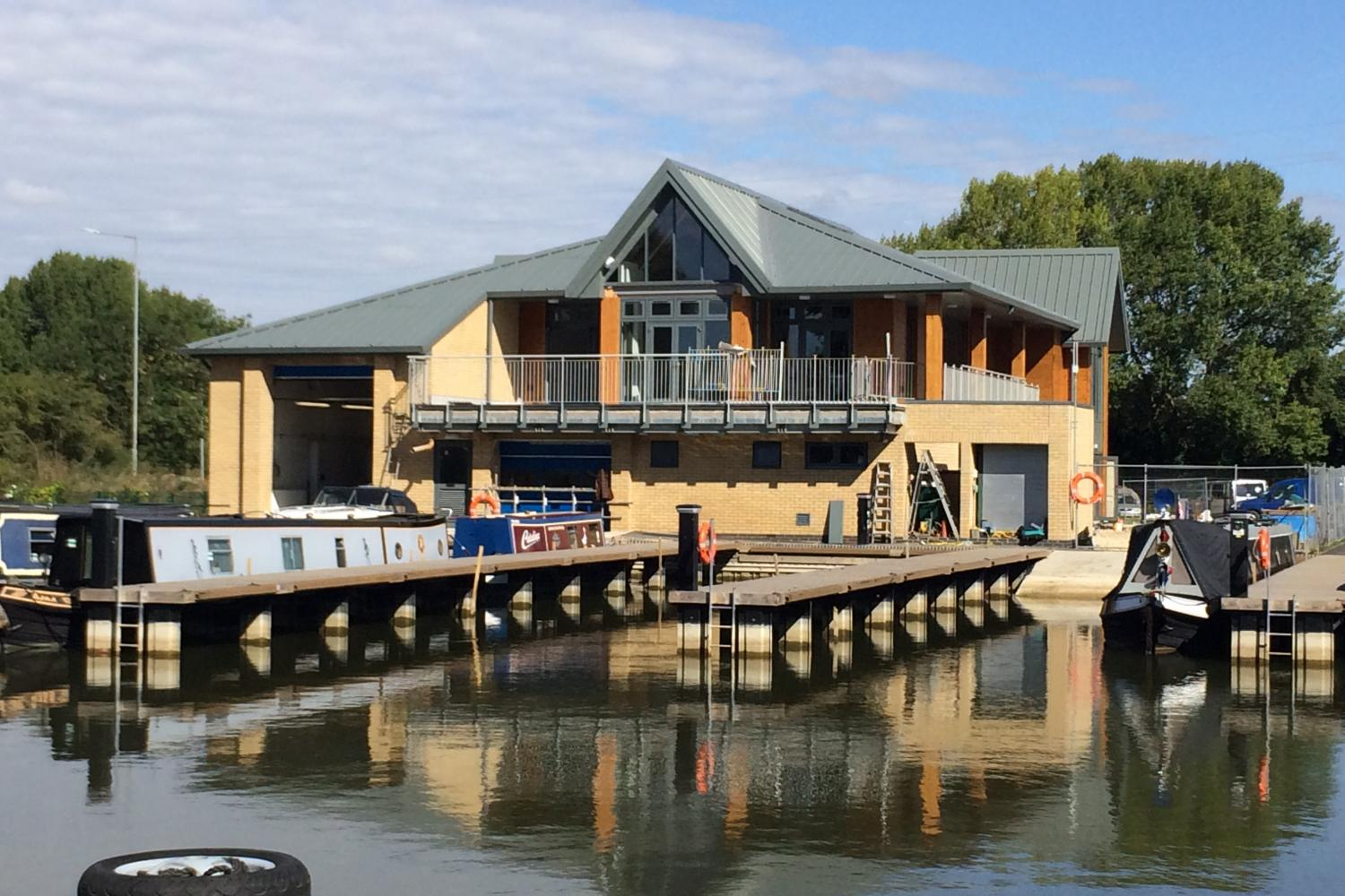 Aylesbury Canal Society Facilities Building